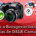 Comprar como recuperar fotos borradas de una camara digital
