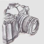 Comprar dibujo cámara de fotos