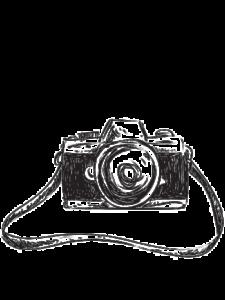 Comprar dibujo camara de fotos png