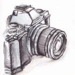 Comprar dibujo de una camara de fotos