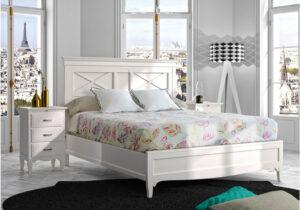 Comprar dormitorio matrimonio blanco