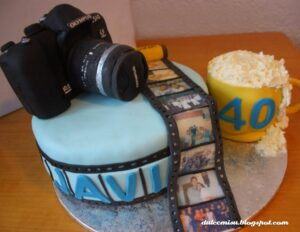 Comprar tarta camara de fotos
