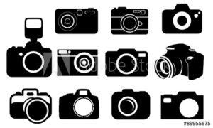 Comprar vector camara de fotos