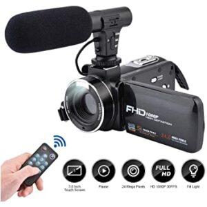 Comprar videocamaras full hd con entrada de microfono externo